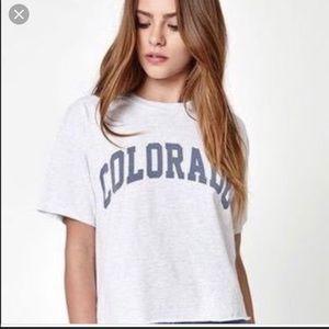 OS J. Galt Colorado Tee T-Shirt Brand Melville SML